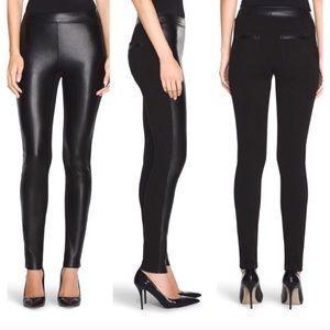 WHBM Vegan Leather Front Legging